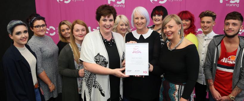 spirit hair team awarded the role of honour