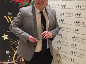 Josh Griffiths is NHF's Welsh Student of the Year