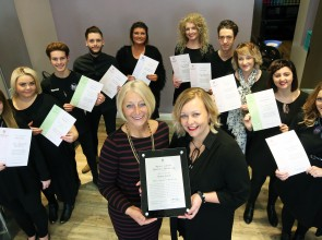 Dynamic Welsh salon joins campaign to register qualified hairdressers